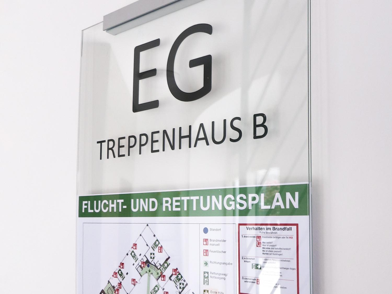 Flucht--und-Rettungswegplan
